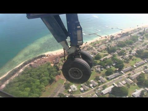 Island Air Dash 8 Landing Honolulu