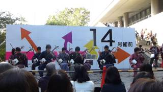 2012年 11月 4日 早稲田祭2012 早稲田大学 津軽三味線同好会...
