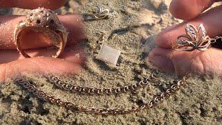 Пляжный коп.Поиск золота.Золото,Золото,Золото/gold search
