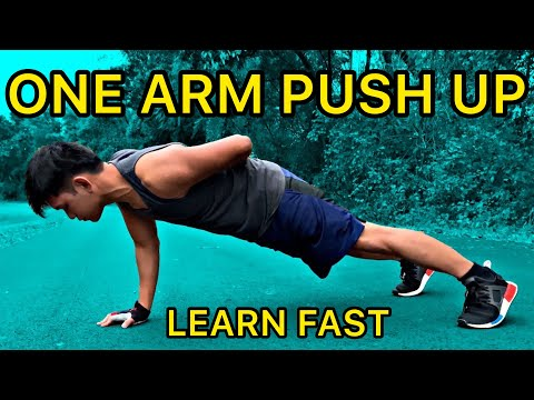 Learn How To Do One Arm Push-Up | Learn Quick