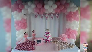 Ideas de decoracion para baby shower niña