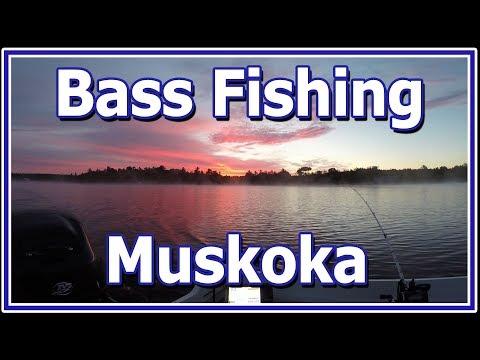 Bass Fishing in Muskoka Ontario