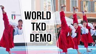 WORLD TAEKWONDO DEMONSTRATION TEAM | Grand Prix Rome 2018