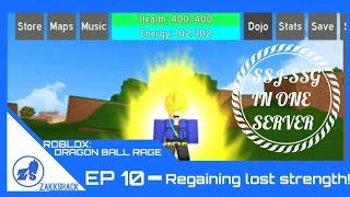 ROBLOX: Dragon Ball Rage Ep. 10- Regaining Lost Strength!