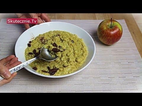 Szybkie śniadanie. Rozgrzewająca jaglanka z jabłkiem :: Skutecznie.Tv [HD]