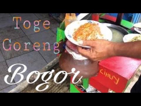 Toge goreng bogor | street Food Indonesia