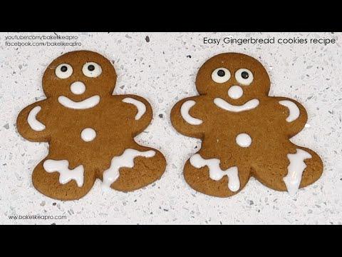 EASY Gingerbread Cookies Recipe