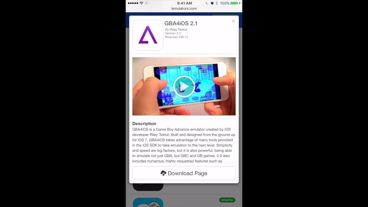 How to Install GBA4iOS on iOS 9-iOS 10 (WORKING AGAIN) DEC  2016 (NO  JAILBREAK)