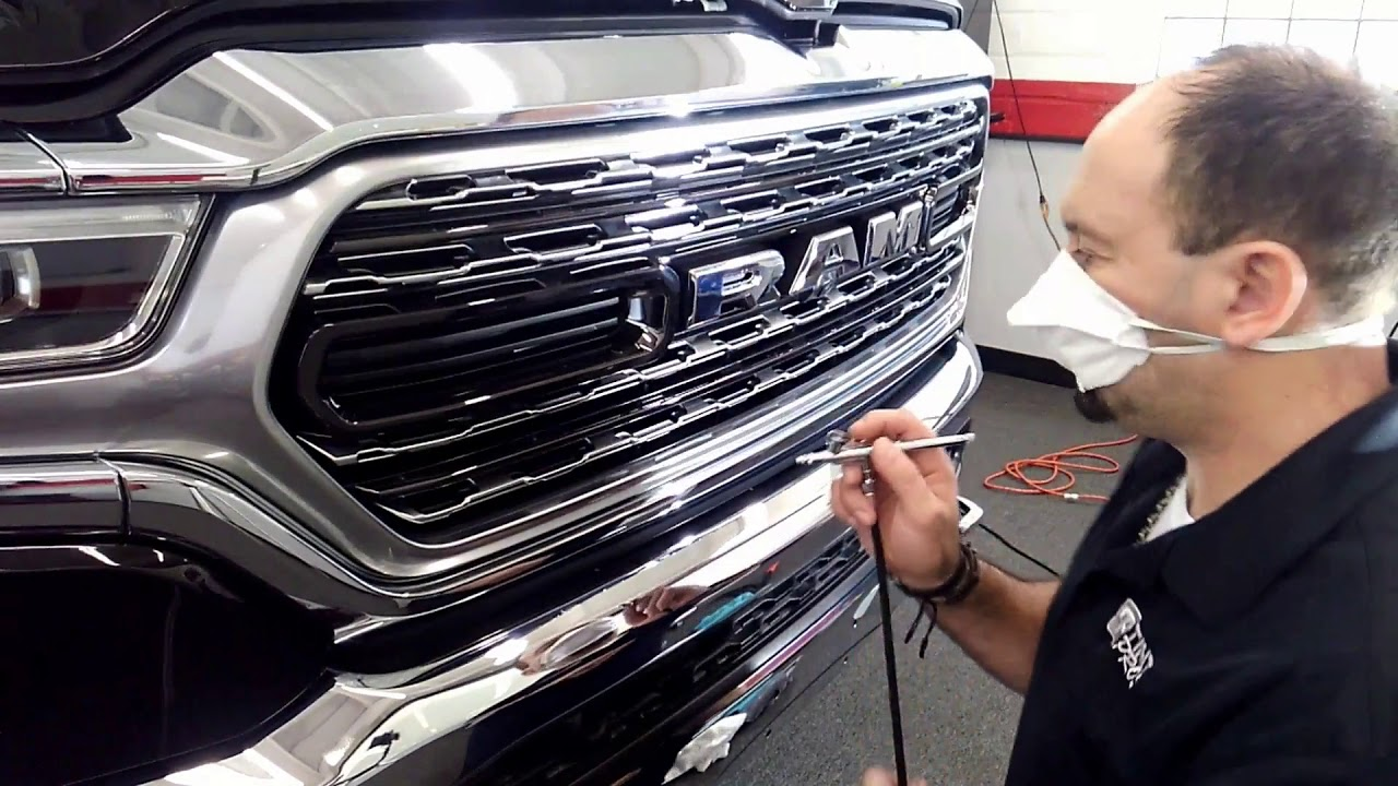 2019 Dodge Ram Ceramic Pro Coating & 3M Clear Bra/Paint Protection Tint Pros 216-906-6084