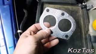 видео Замена коллектора lada 21093 (ваз 21093)