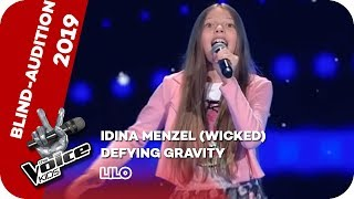 Idina Menzel - Defying Gravity (Lilo) | Blind Audition | The Voice Kids 2019 | SAT.1