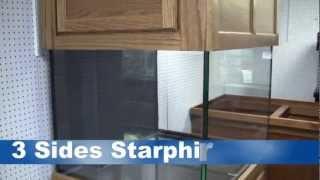 Great Lakes Aquariums 125 Gallon Premium Starphire Glass Reef System.mp4