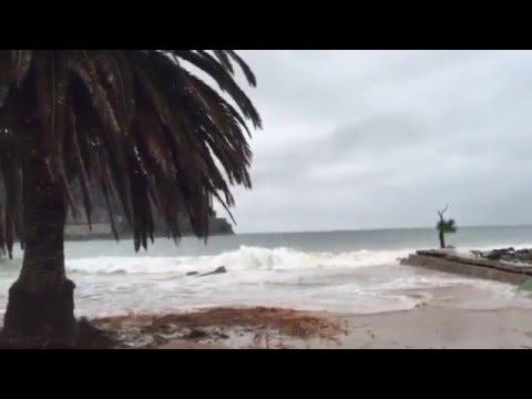 Laredo bajo los efectos del temporal