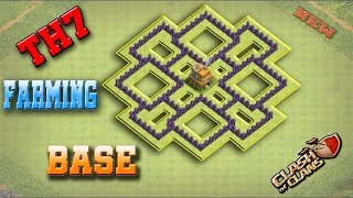 Best Town Hall 7 (TH7) Farming Base Design - 2018 | Clash Of Clans [New Updated]