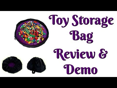 Toy Storage Bag - Review & Demo!