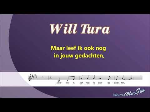 Will Tura - Eenzaam Zonder Jou - Karaoke