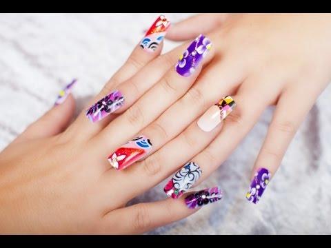 Tendinte Unghii Primavara Spring Nails Art Youtube