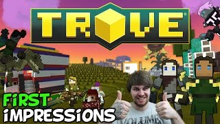 "Trove First Impressions ""Is It Worth Playing?"""