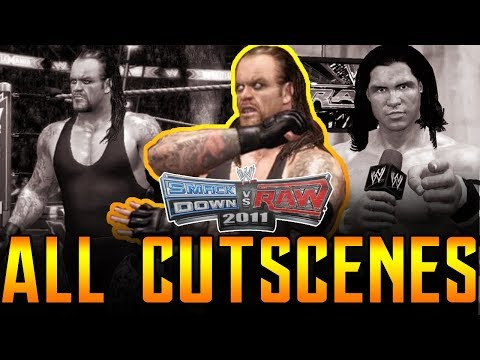 WWE SVR 2011 | Undertaker RTWM All Cutscenes PS3/Xbox 360 1080p