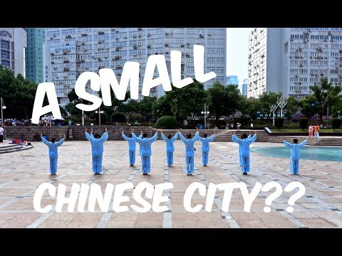 A small Chinese city??
