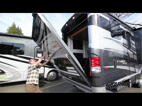 2016 newmar canyon star 3921 toy hauler class a motorhome for Toy hauler motor homes