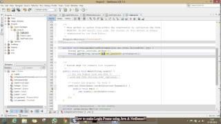 #3. How to make Login Frame using Java & NetBeans!!!