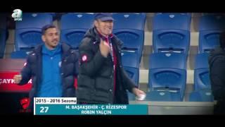 Harika bir aşırtma! Medipol Başakşehir - Çaykur Rizespor (Robin Yalçın) ZTK En Güzel 100 Gol
