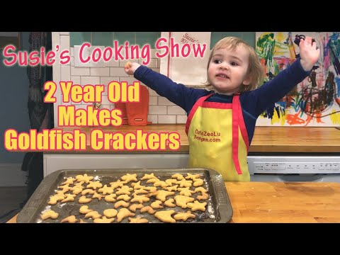 2-year-old-makes-home-made-goldfish-crackers-from-scratch:-susies-cooking-show-for-kids-ep.-11