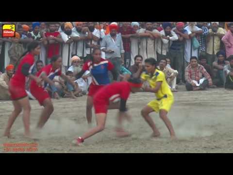 GIRLS KABADDI || PUNJAB vs HARYANA || PART-8th || GOLD KABADDI CUP RAMDAS -2016