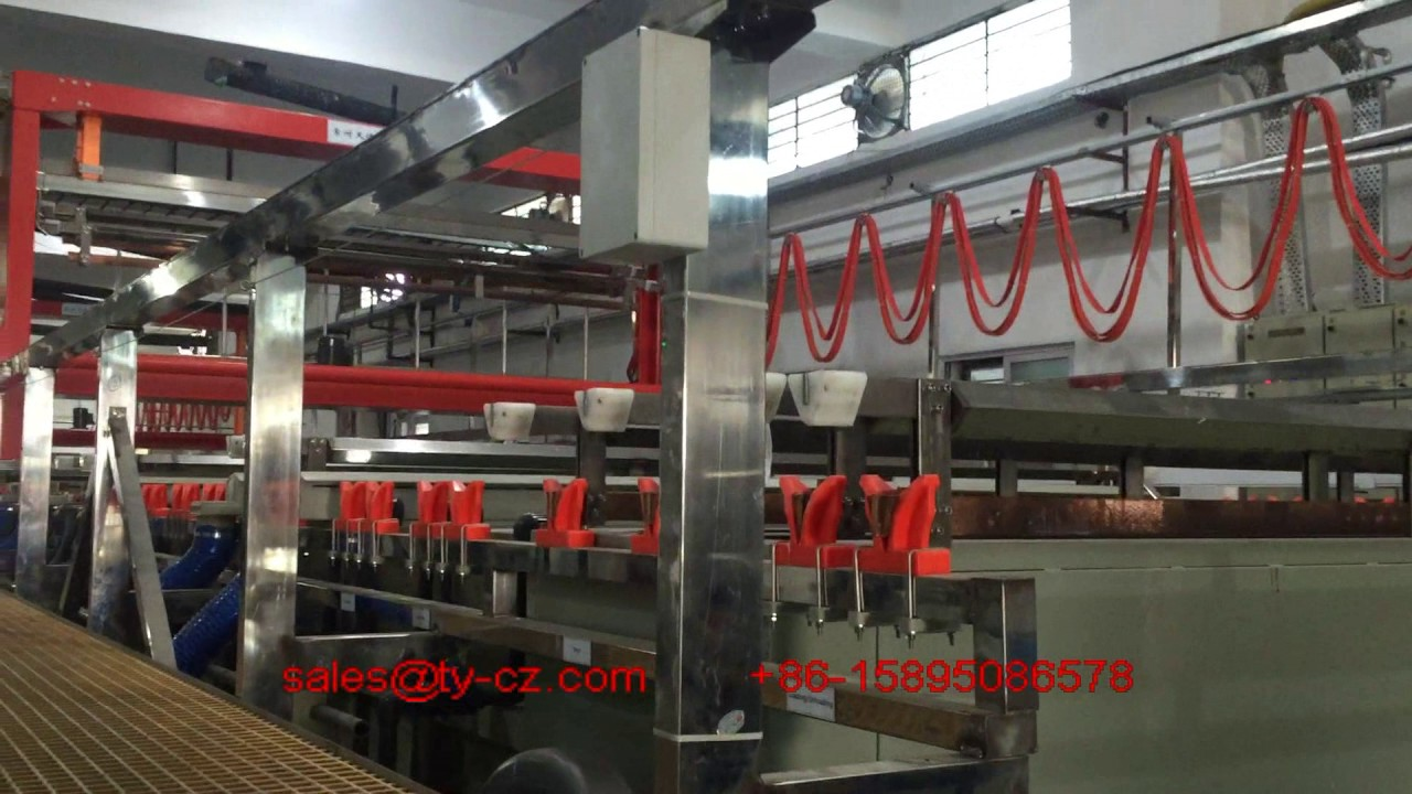 Full auto copper plating line PCB production