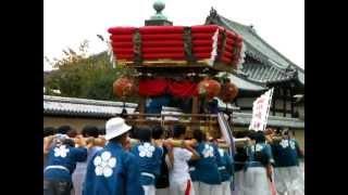 2012.10.13(土)・斑鳩神社秋祭り「五丁」(奈良県斑鳩町)