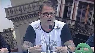 MESA DE DEBATES 20 11 2º ANIVERSÁRIO DO GUINHO   O BRASILEIRINHO