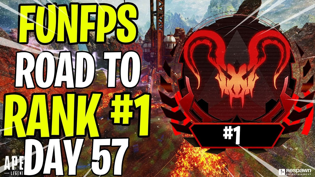 FunFPS  - 1 vs3 - CLUTCH OR LOSS? - PATHFINDER - ROAD TO APEX PREDATOR RANK #1 DAY 57