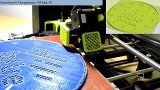 Blue FCU 3D Printing Live Stream
