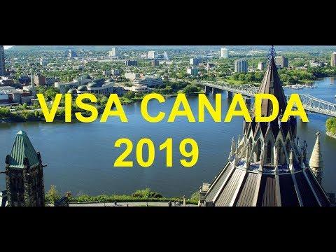 DEMANDE VISA CANADA EN LIGNE 2019