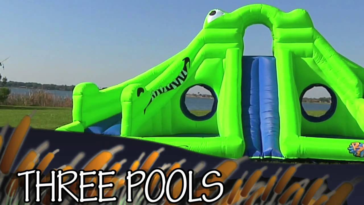 e50d554cbebbc Vimeo 10928972 ULTRA Croc 13 in 1 Inflatable Water Park - YouTube