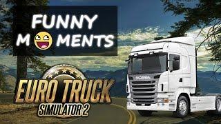 Euro Truck Simulator 2 - Wpadki i wypadki #1   ETS Crashes