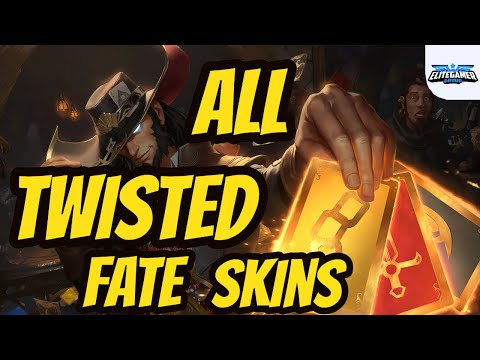 All Twisted Fate Skins Spotlight League of Legends Skin Review