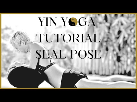 yin yoga tutorial the seal pose  variations  youtube