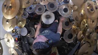 Genesis - In The Cage Drum Cover (High Quality Sound)