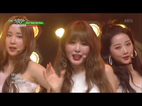 뮤직뱅크 Music Bank - Don't Stop Me Now (원곡 Queen) - 네이처(NATURE).20181221