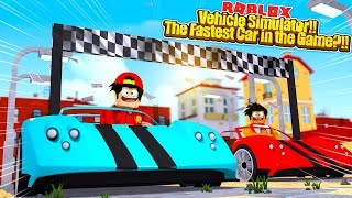 ROBLOX - WE FINALLY HAVE THE FASTEST CARS IN ROBLOX!!