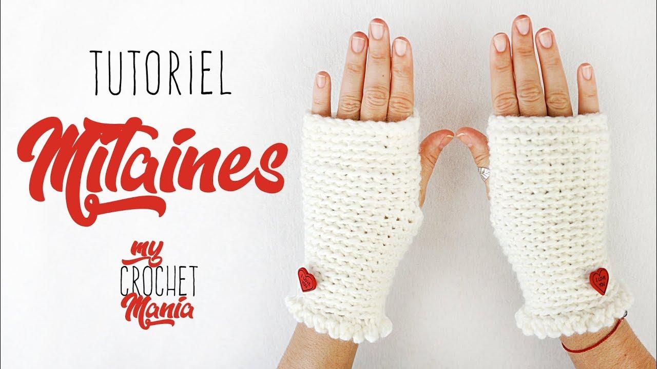 Tuto Crochet Comment Faire Des Mitaines Super Facile