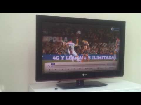 Видео через USB на телевизоре LG 32LD340
