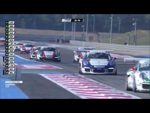 Porsche Carrera Cup France 2017 - Circuit Paul Ricard - Course 1
