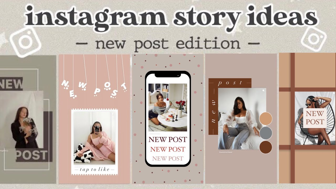 """200 Creative """"NEW POST"""" Instagram Story Ideas   using the IG APP ONLY   part  20"""
