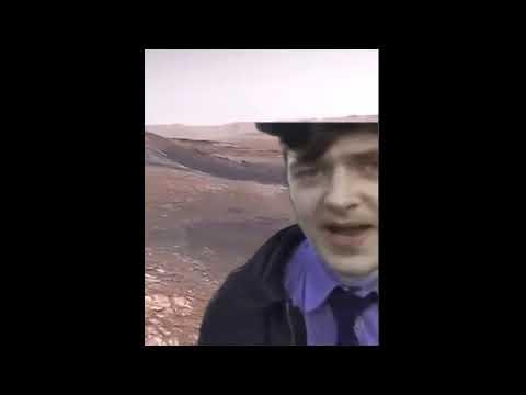 Первое видео с марса со звуком.