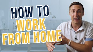How To Work From Home Successfully (Habits, Handling Distractions, And The Ultimate Office Setup)