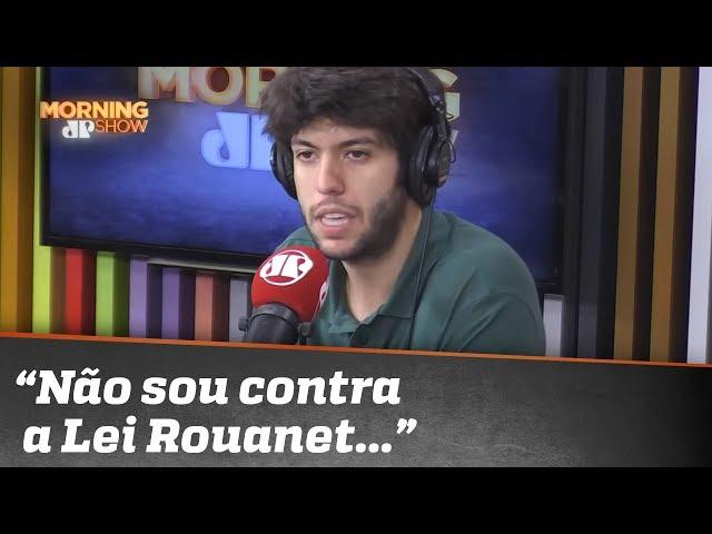 """Caio Coppolla: """"Não sou contra a a Lei Rouanet, mas ela precisa ser aprimorada"""""""