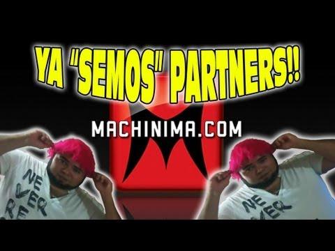 """Ya """"SEMOS"""" partners con Machinima Network, Gracias todos!!!!"""